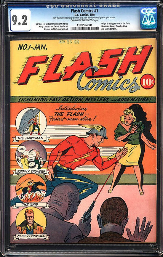 Flash comics Wise