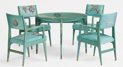 Fornasetti table Wright design