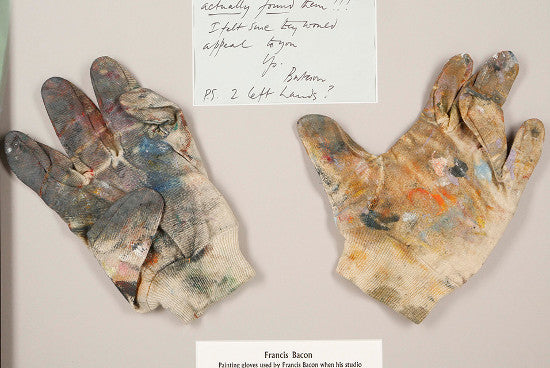 Francis Bacon gloves