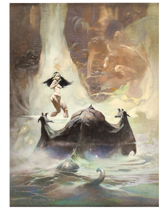 Frank Frazetta Earth