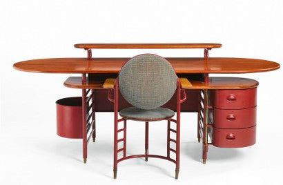 Frank Lloyd Wright desk