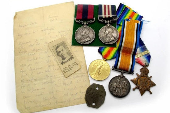 Franks medal collection