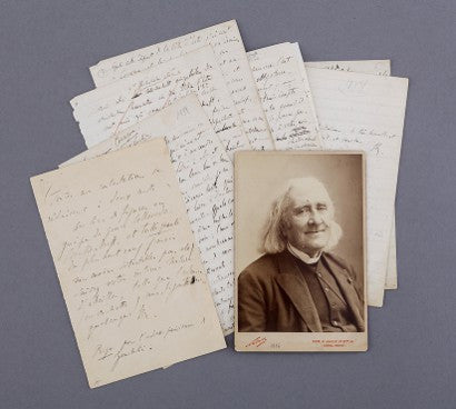 Franz Liszt letters auction