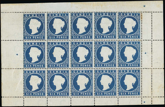 Gambia stamps Spink