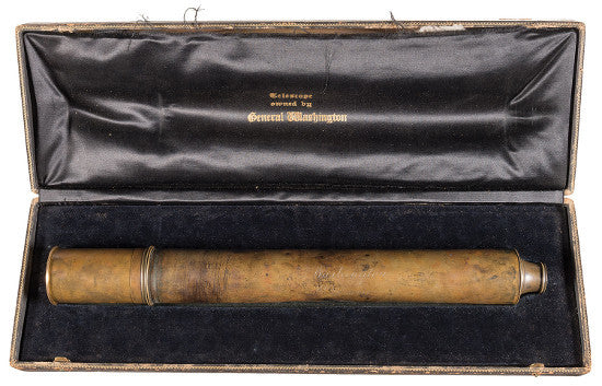 George Washington spyglass