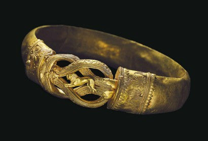 Greek gold bracelet