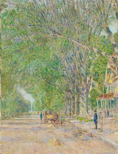 Childe Hassam painting auction