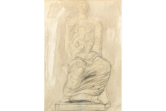 Henry Moore Madonna