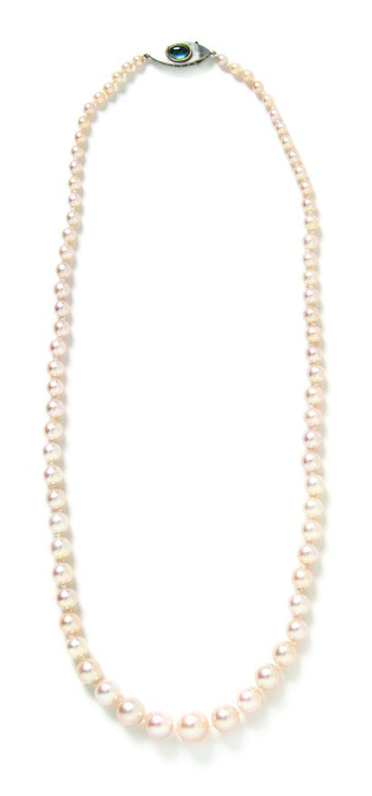 Hindman pearl necklace