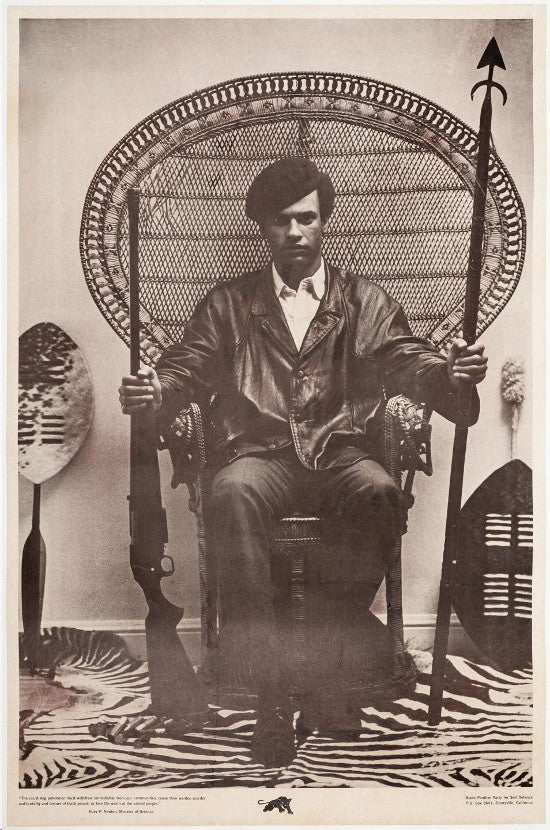Huey Newton Black Panthers