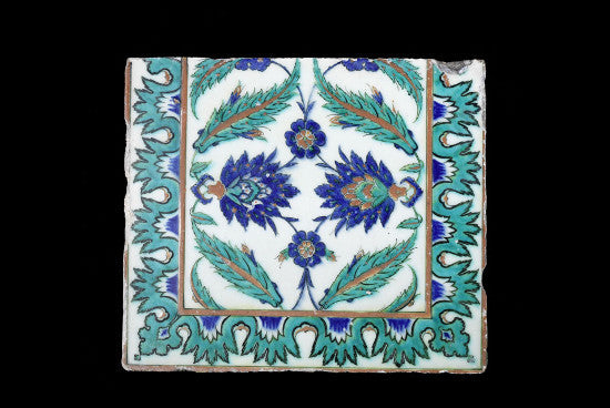 Iznik tile Bonhams
