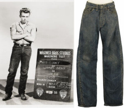 James Dean's jeans sold at Heritage