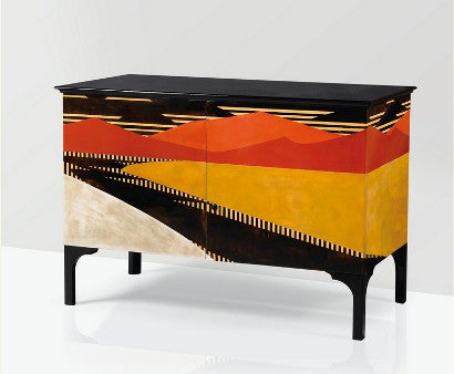 Jean Dunnand Lacquer cabinet