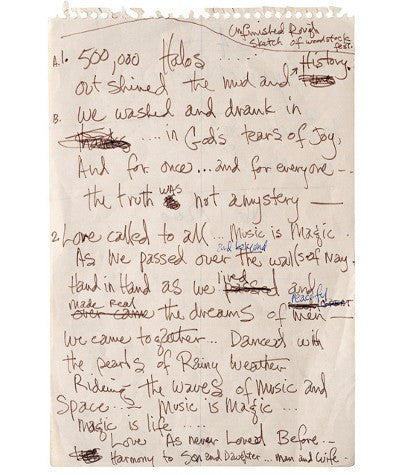 Jimi Hendrix song auction