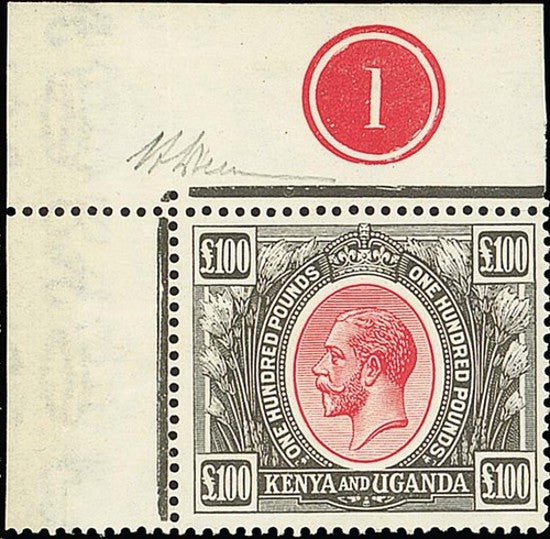 Kenya revenue 1920
