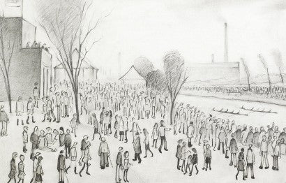Lowry and Hockney auction