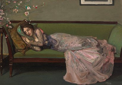 Lavery The Green Sofa