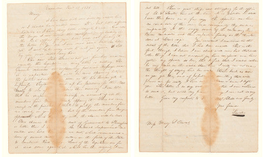 Lincoln letter Owens