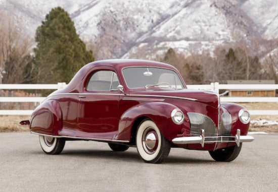 Lincoln Zephyr Coupes To Sell At Amelia Island Paul Fraser