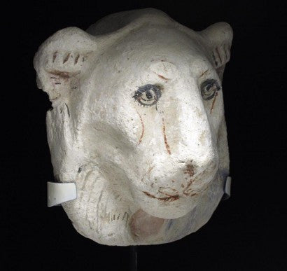 Egyptian lioness head