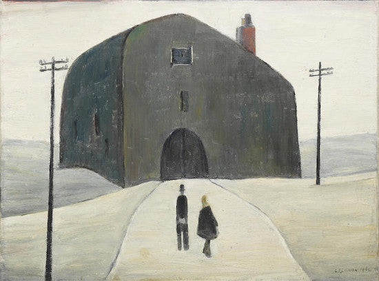 Lowry house painting