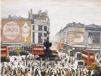 Lowry London painting Thompson
