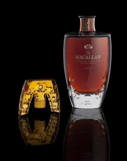 Macallan whisky Lalique