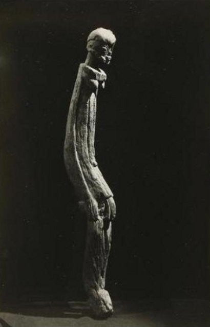 Man Ray photographs of African objects