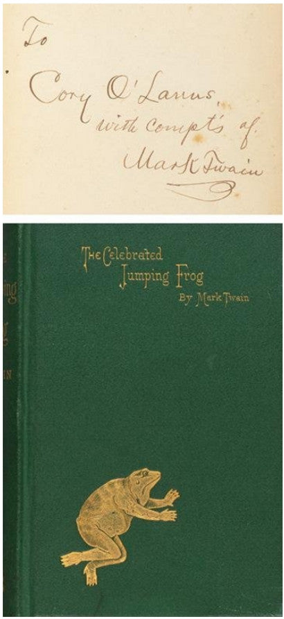mark-twain-frog-first-book-auction-sothebys