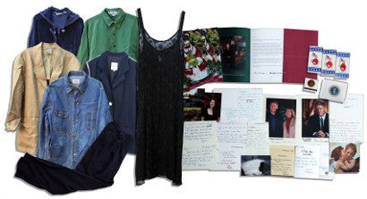 Monica Lewinsky archive auction