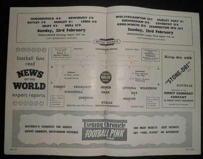 Post Munich disaster programme
