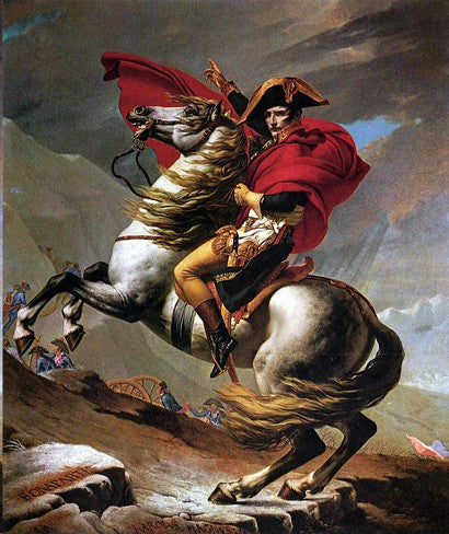 Napoleon Crossing Alps