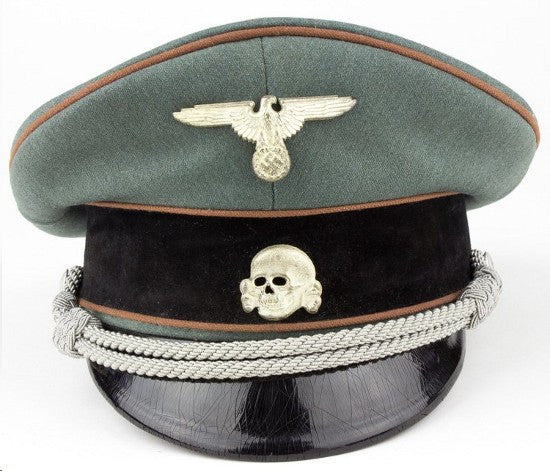 Concentration camp officer's hat offered in February 10 sale
