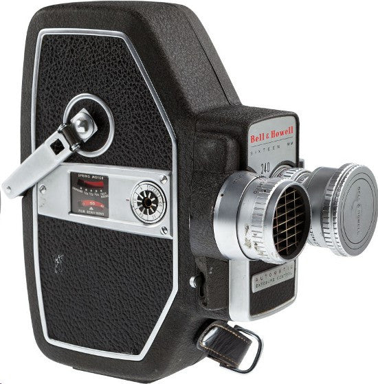 Orson Welles movie camera