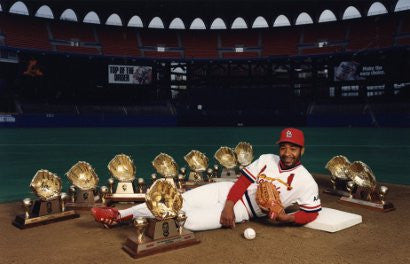 Ozzie Smith gold gloves