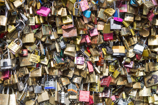 Padlocks Paris Pont
