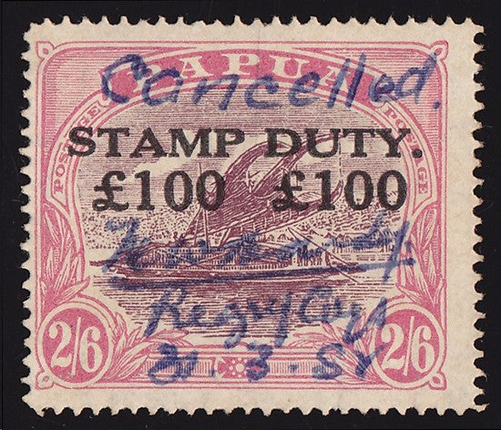 Papua stamp duty