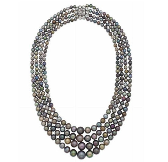 pearl necklace christies