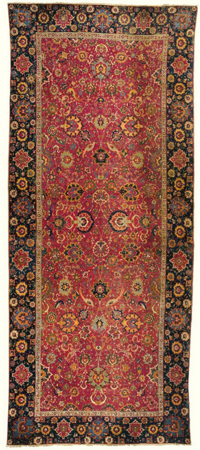 Safavid carpet auctions with a 176% increase