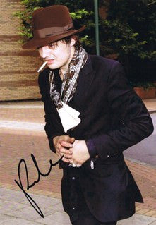 Signed photograph of Pete Doherty