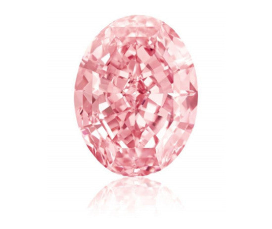 The Pink Star is the largest pink diamond on the market