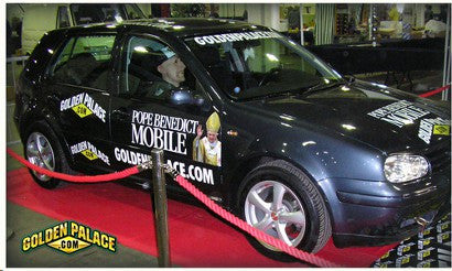 Pope VW Golf auction
