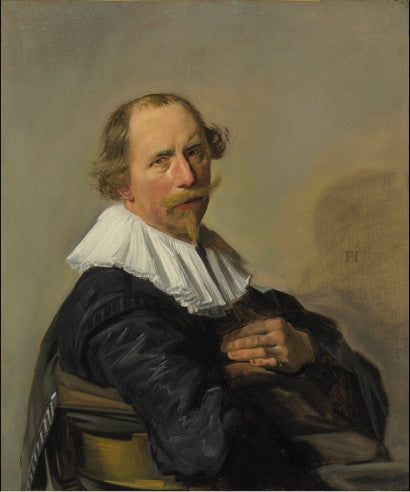 portrait of a man franz hals