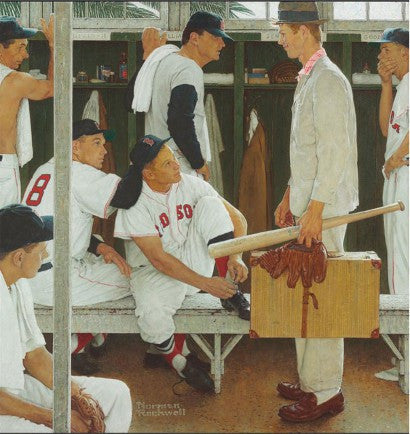 Red Sox Norman Rockwell