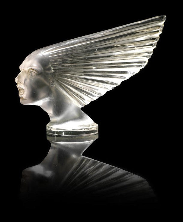 Rene Lalique car ornaments to auction in Paris