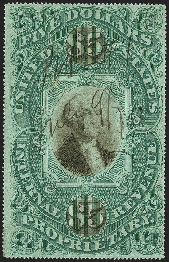Revenue green stamp