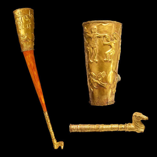Rhyton Greek gold