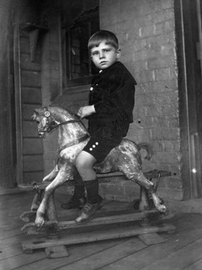 rocking horse auction collectibles