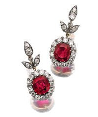 Sothebys ruby earrings