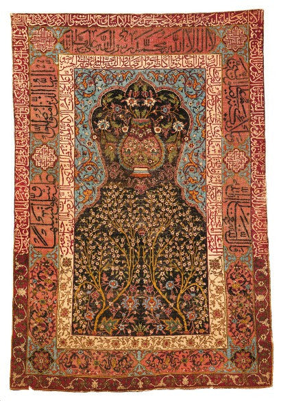 Safavid prayer rug Sothebys